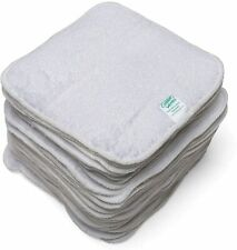 Cheeky Wipes 25 White Terry Towelling