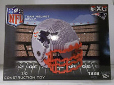 New England Patriots BRXLZ Team Helmet 3D Toy PUZZLE 1328 Pcs NFL Ages 12+ GIFT
