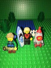 3X LEGO CITY MINIFIGURE MINIFIG SERIES 17 FIGURES BRAND NEW PIECES LOT 2