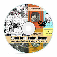 South Bend Lathe Manual Library Collection, How To Run A Lathe Parts List CD V26