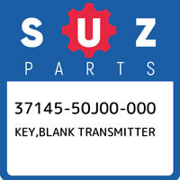 37145-50J00-000 Suzuki Key,blank transmitter 3714550J00000, New Genuine OEM Part