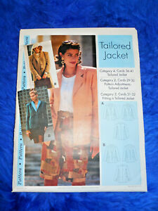 Sewing Step by Step Tailored Jacket Pattern  Misses Sizes 4-22 FREE SHIPPING!!!!