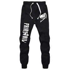 Anime Fairy Tail Cotton Pants Cosplay Sports Casual Trousers Sweatpants S-XXL