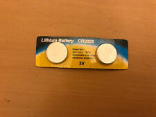 2x Pack CR2025 3v 170mah lithium Battery button cell/coin for calculator BULK