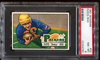 1951 Bowman Football #52 FLOYD REID Green Bay Packers RC ROOKIE PSA 8 NM-MT