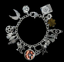Charmed Themed Charm Bracelet Power of Three Book of Shadows