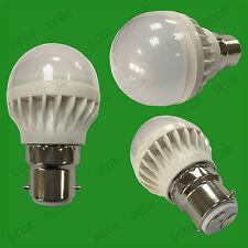 X 25 5W B22 Lumière jour Blanc 6500K BC Mini Globe Balle De Golf LED Ampoule