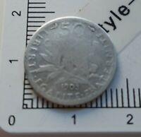 H13303 recherchée 50 centimes de franc semeuse 1903 pièce de monnaie argent