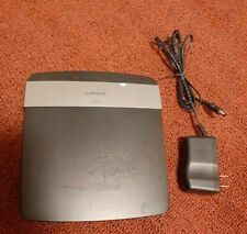 Linksys E2500 v3 N600 Dual-Band Wireless N Router 300 Mbps 4-Port 10/100 WiFi