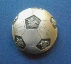 Budweiser Beer Soccer Ball Belt Buckle-World Cup Sponsor/Anheuser-Busch - IMC