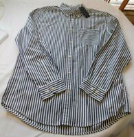 Tommy Hilfiger Mens Long Sleeve Button Up Shirt L Classic Fit 78D4701 409 NWT