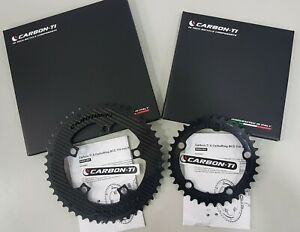Carbon-Ti X-AXS X-Carboring 12Speed BCD110x5 Road Chainring -33/35/37/46/48/50T