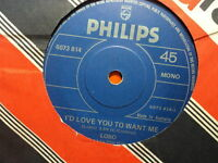 """Lobo """"I'd Love You To Want Me"""" Classic 70s Hit Oz 7"""""""