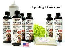 MITE AVENGE ALL NATURAL MANGE TREATMENT for Demodectic Dog Mange