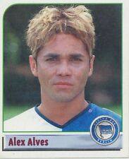 N°026 ALEXANDRO ALVES # BRAZIL HERTHA.BSC STICKER PANINI BUNDESLIGA 2002