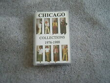 cassette audio chicago collections 1976-1988