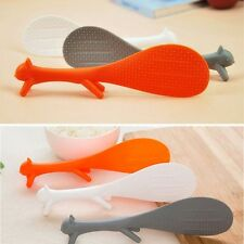 Shape Cookware Reusable Animal Ladle Cooking Plastic Rice Scoop Spoon Paddle