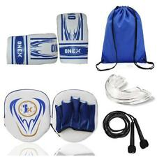 Junior Focus Boxing Pads Hook and Jab Mitts KickBoxing MMA With Punching Gloves