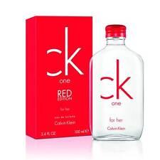 Parfum CALVIN KLEIN CK ONE RED WOMEN EDT 100ML Neuf et sous blister