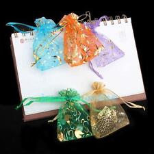 50Pcs Organza Mini Gift Bags Jewelry Candy Packing Pouch Wedding Party Favour