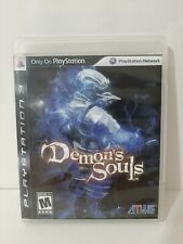 Demon's Souls, PS3, Complete (Sony PlayStation 3, 2009) Black Label