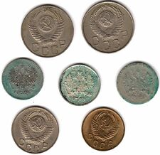 Collection Of Russia Kopeks Coins Including Silver***Collectors***(R7)