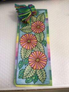 Flower Leaf Bookmark
