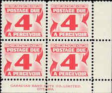 Scott # J24 - 1967 - ' Postage Due '; 20 x 17mm (Lower Right)