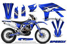 YAMAHA WR450F 2012-2013-2014 GRAPHICS KIT CREATORX DECALS SPEEDX BBL