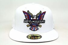 3983adc908925 The Diplomats 90s Hip Hop Dipset White Big Bird New Era 59Fifty Fitted Hat  Cap