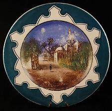 Assiette Faïence Creil & Montereau Polychrome Orientaliste Fin XIXme début XXme