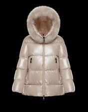 MONCLER SERIFUR parka beige puffer jacket, size 1