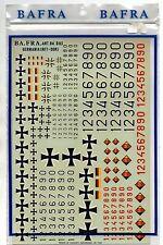 BA.FRA. BAFRA DECALS BA D03 - 1/48-1/72 GERMANIA (RFT - DDR) - NUOVO