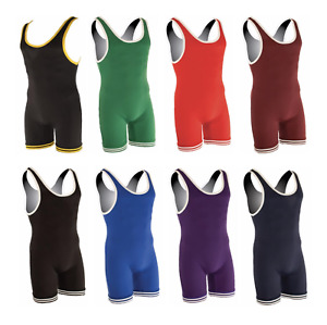 Matman Wrestling | #81 #83 | Double Knit Nylon Singlet | All Sizes | All Colors