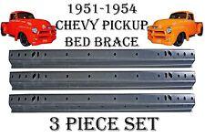 1951 1952 1953 1954 Chevrolet Chevy Pickup Truck Bed Floor Brace Across 3 PCS