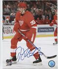DREW MILLER DETROIT RED WINGS SIGNED AUTOGRAPH 8x10 PHOTO w/ COA