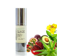 Organic Marine Collagen Pro Age Night Renew Serum Anti Ageing Wrinkle Cell Renew
