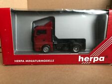 Herpa 1:87 HO MAN TG-A XL ZM Tractor Unit Red Model 146425
