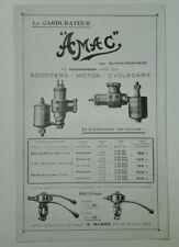 Prospectus Catalogue Brochure Moto Accessoires Années 20
