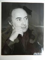 Foto Luis Melancon John Dexter Director Opera Metropolitan Nueva York C.1974
