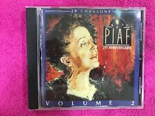 EDITH PIAF CD 25 ANIVERSARIO VOLUME 2