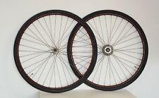 RARE Roues AVA MAVIC 1920 chapeau gendarme 700B velo vintage old bike wheels set
