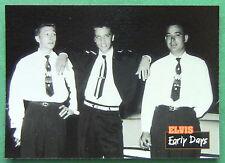 ELVIS PRESLEY, EARLY DAYS, 1992 THE ELVIS COLLECTION #3 CARD, BLUE MOON BOYS