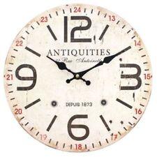 Horloges murales vintage/rétro beige pour la maison