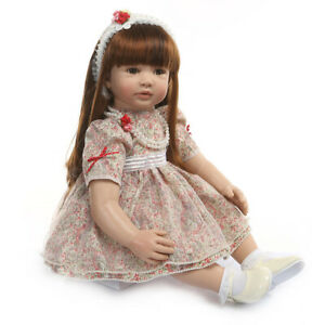"24in"" Princess Style Reborn Toddler Doll Realistic Reborn Doll Cotton Body"