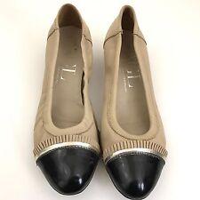 Attilio Giusti Leombruni AGL Pumps Cap Toe Heels Women's Shoes Size 40 US 10
