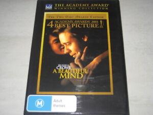 A BEAUTIFUL MIND DVD R4 NEW