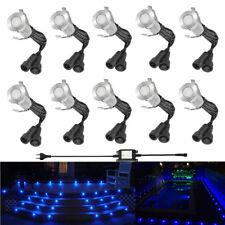 10pc 19mm LED 12V Outdoor Garden Plinth Kickboard Floor Path Pathway Deck Lights