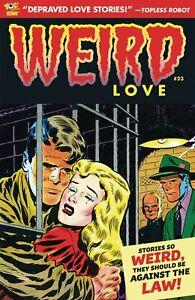 Weird Love 23 Joe Gill John Prentice Art Cappello Lee Elias Bizarro Romance NM
