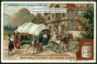 An Inn From The Middle Ages Auberge Au Moyen Age 1905 Trade Ad Card